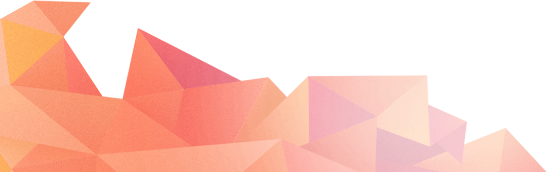 Pink Triangular Shapes Overlay